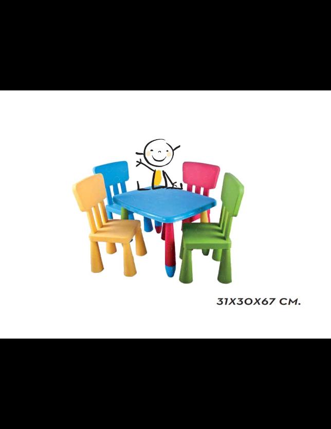 CADEIRA INFANTIL CORES 22306