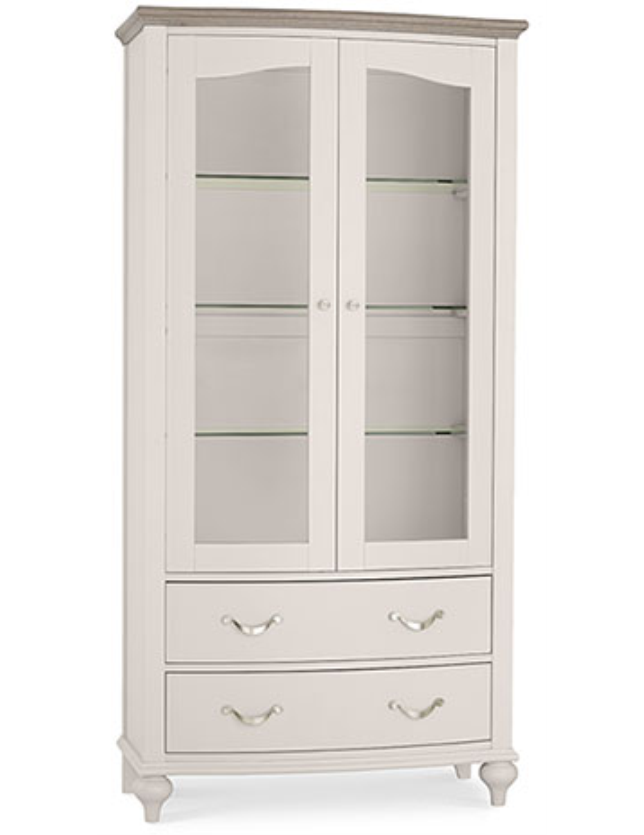 VITRINE 2P+2GAV BENTLEY GREY WASH OAK 6290-22-1 (2volumes)