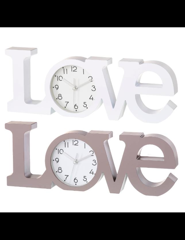 RELOGIO LOVE 2/C PLASTICO 39*3.7*14.6CM - 61503