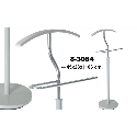 CABIDE METAL BRANCO / CROMADO 106CM - 83084