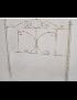 CABECEIRA METAL MARIPOSA 150 BRANCO - 0001624