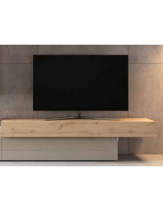 BASE TV AURA 2 PORTAS ABATIVEIS DIREITA 160*42.2*44 - REF. A-3 d