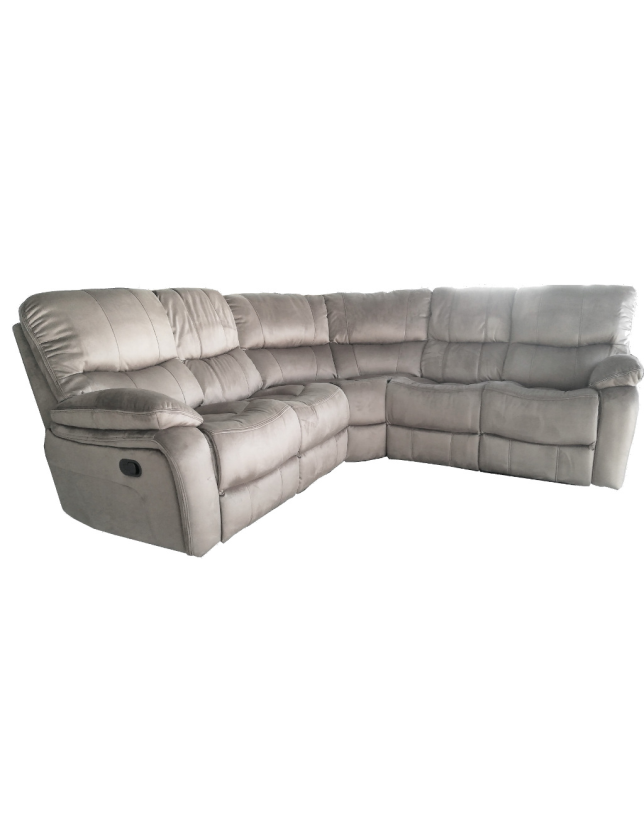 CONJUNTO CANTO KUMASI C/2 RELAX NOBUCK SY390A ALL HOUSE - RS1891 BEGE