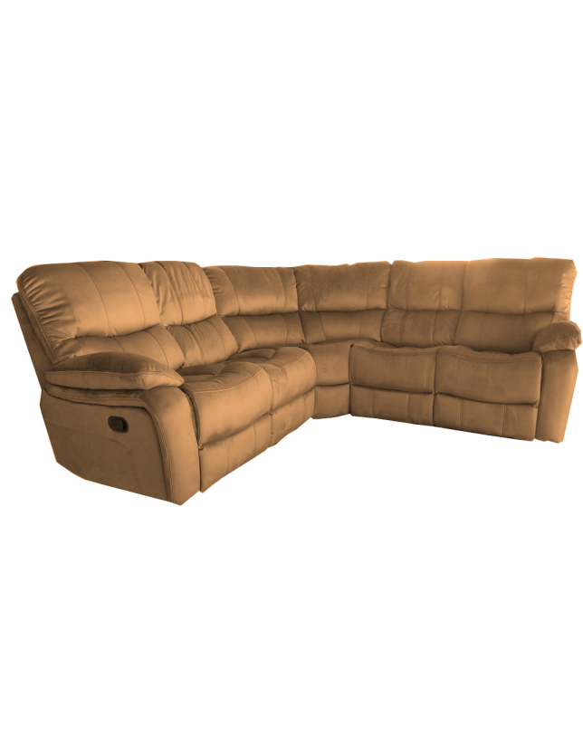 CONJUNTO CANTO KUMASI C/2 RELAX NOBUCK 2024-3 ALL HOUSE - RS1891 BROWN